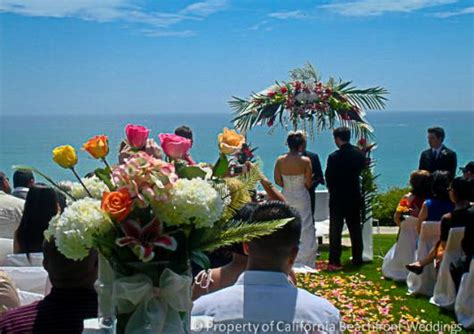 beachfront wedding venues in new 2 southern california beachfront weddings orange county san diego county