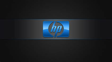 wallpaper hp com blue hp logo hd wallpaper wallpaperfx