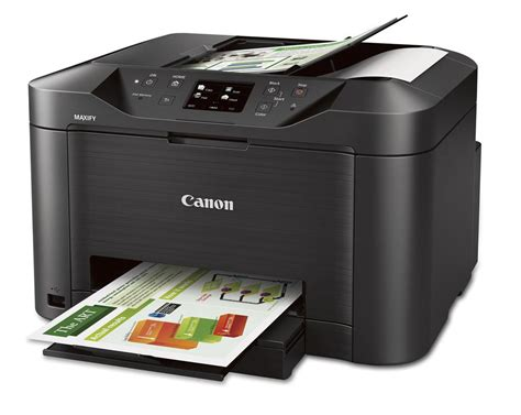 Best Small Home Office All In One Printer Canon Maxify Mb5020 Wireless Inkjet Small Office All In