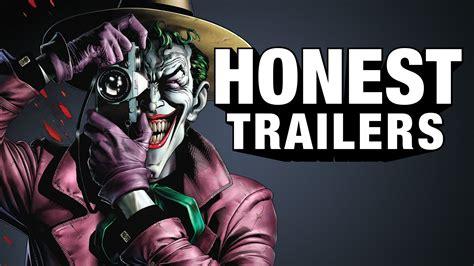 nightfox killer joke trailer doovi the killing joke gets an honest trailer