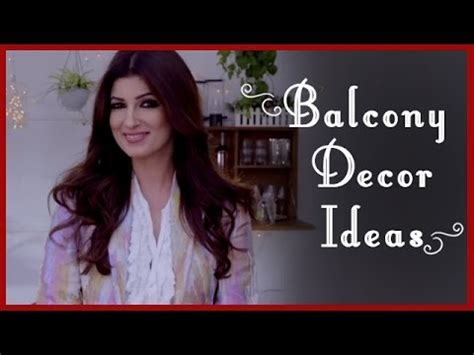 Interior Ideas For Indian Homes balcony decoration ideas garden ideas by twinkle khanna