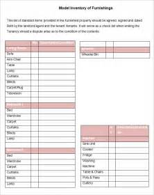 document templates free landlord inventory template 6 free word documents