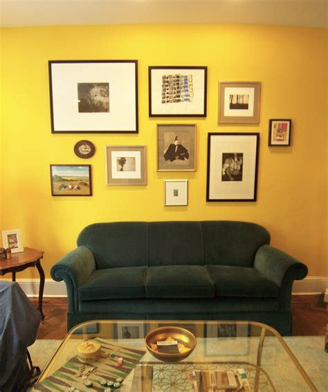 yellow walls living room magnaverde secret fan of yellow bossy color annie