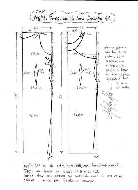 esquema de vestido esquema de modelagem de vestido longo com al 231 a e babado