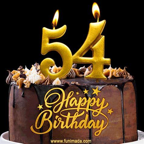 birthday chocolate cake  gold glitter number  candles gif   funimadacom