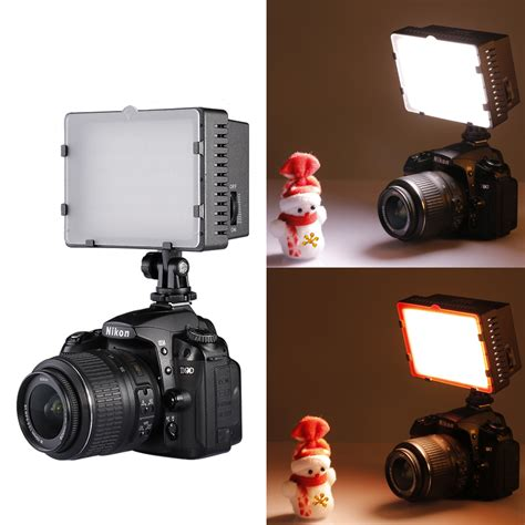 neewer cn 216 led light for canon nikon pentax sony and other dslr cameras ebay