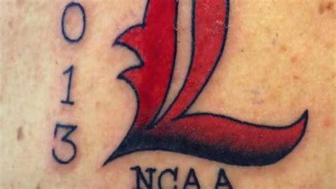 rick pitino tattoo louisville coach rick pitino gets promised