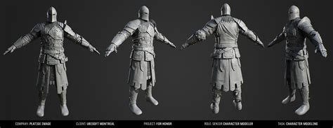 cinematic  honor character models
