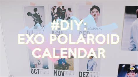Polaroid Exo Kokobop Outdoor Version diy exo polaroid calendar