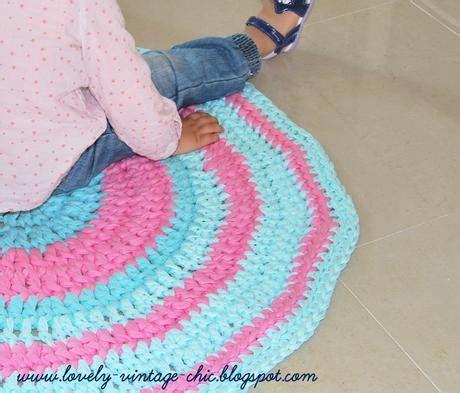 tappeto uncinetto tunisino tappeti fettuccia tutorial tappeto fettuccia con