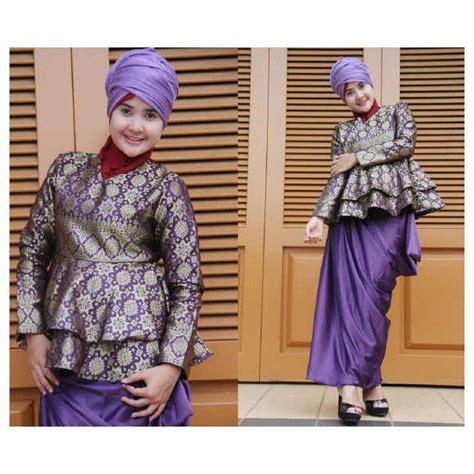 Balino Gamis Ungu aiiko ungu baju muslim gamis modern