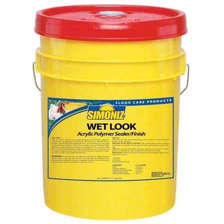 simoniz wet  floor finish  gal clean cut solutions