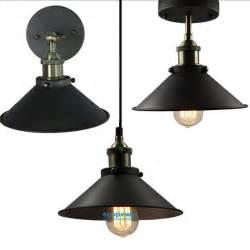 wall pendant light fixture retro industrial rustic metal wall l ceiling fixture