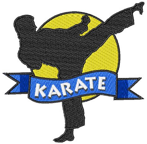 embroidery design karate embroidery patterns embroidery design karate 3 91 inches