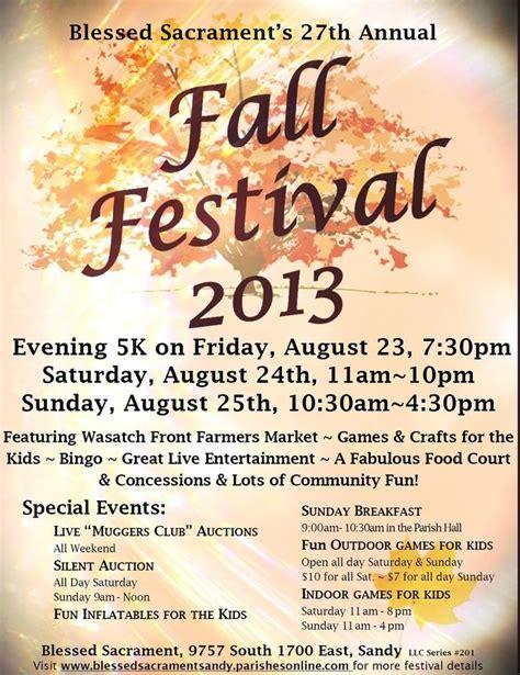 Festival Template Fall Festival Flyer Template Search Fall