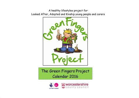 Calendar Covers 2016 2016 calendar green fingers project