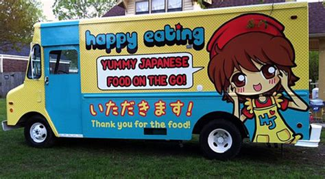 japanese food truck design happy eating happy japan debuts japanese food truck