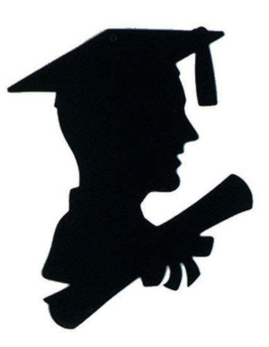 Siluet Wisuda Graduation Shioulette get your boy graduate silhouette decoration caufields