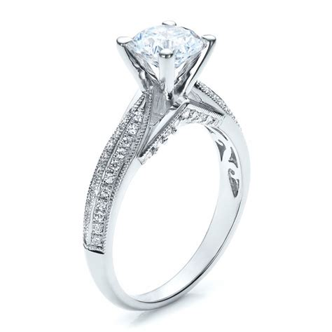 pave engagement ring vanna k 100080