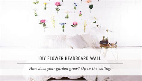 flower headboard diy flower headboard wall bedroom home decor stop