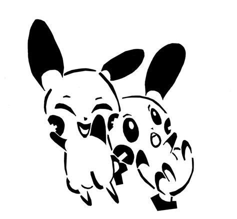 plusle and minun tribal by awiede02 on deviantart