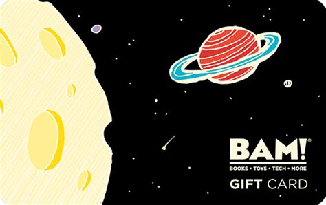 Bam Gift Card - bam gift cards choose your favorite design books a million online bookstore