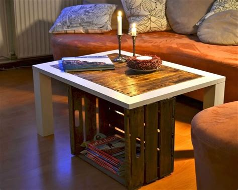 Coffee Table Made From Crates Diy Coffee Table Made From Wooden Crates Diy And Crafts