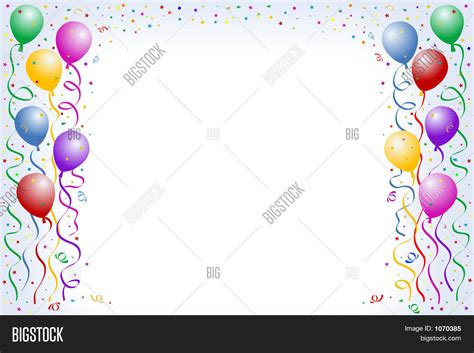 Powerpoint Template Happy Birthday Multicorored Balloons With Baxadyf Happy Birthday Powerpoint Template