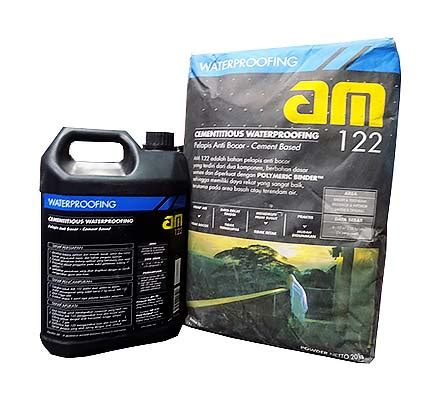 Pelapis Anti Bocor Dua Komponen Am 100 Polymeric Binder am122 20kg 5kg cairan