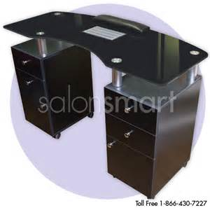 j a glass top manicure tables with vent glass top nail
