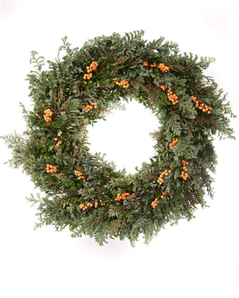 holiday wreath 31 days of holiday wreaths martha stewart