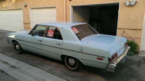 1976 Dodge Dart 4 Door by Find Used 1976 Dodge Dart Sedan 4 Door 3 7l Slant 6 In
