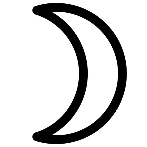 crescent moon file moon symbol crescent svg wikibooks open books for