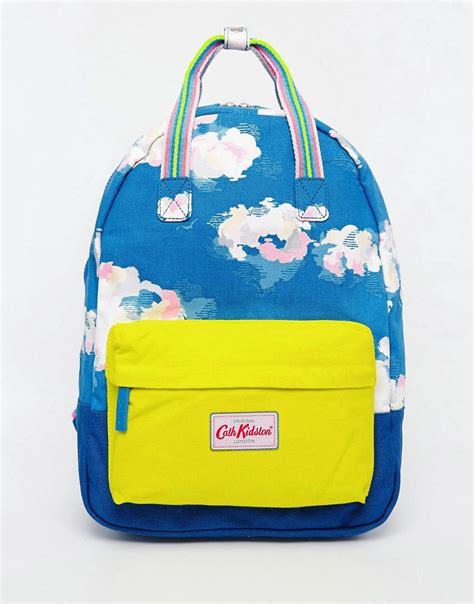 Cath Kidson 159 Small 3 Seleting cath kidston cath kidston small cotton backpack at asos