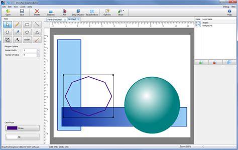 drawpad graphics editor    software