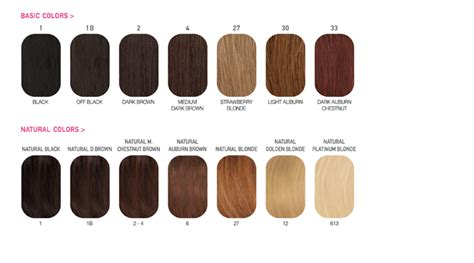 chart of haircolors hairstyle hair color chart hairstyles 34684