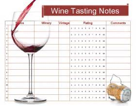 Wine Tasting Template by Free Wine Tasting Sheet Printable Cheers Cocktail Hour