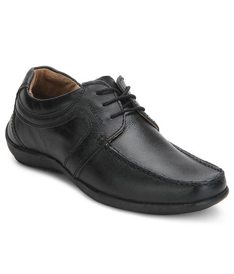 woodland black smart casuals shoes price in india buy