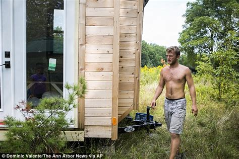 tiny house rental michigan michigan student fed up with 800 a month rent on cus