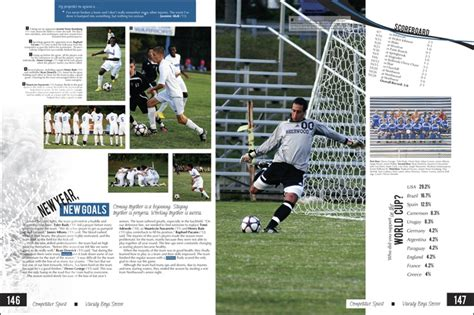 yearbook golf layout soccer page yearbook pinterest soccer sports and