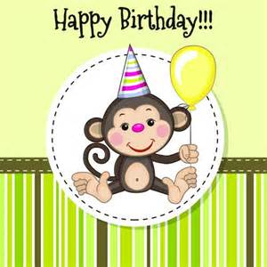monkey birthday cake template birthday card template 15 free editable files to
