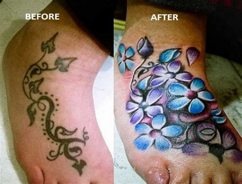 tattoo cover up on foot 63 best images about cover up tattoos on pinterest all