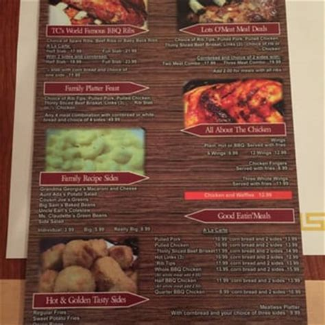 Rib Crib To Go Menu by Tc S Rib Crib 187 Photos Barbeque Valley Las Vegas Nv Reviews Menu Yelp