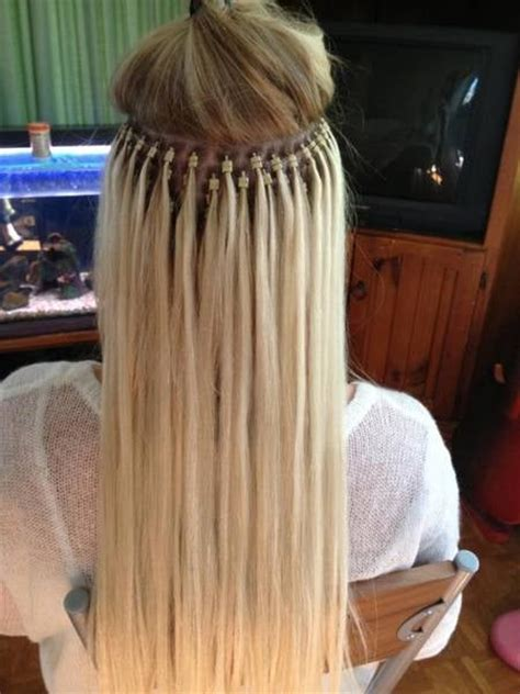 micro link foundation for sew in good for clients with micro link hair extensions om hair