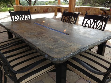 concrete table and benches outdoor fire tables concrete outdoor benches and tables