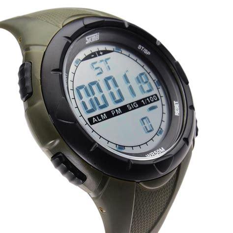 Skmei 1025 Digital Original Sport Murah 1 skmei 1025 calendar sport black rubber digital wrist quartz us 8 99 sold out