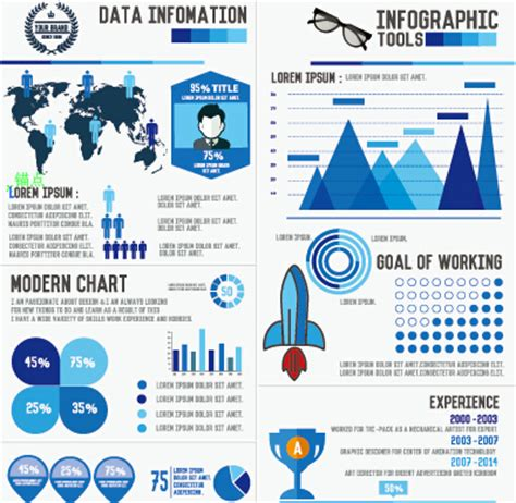 business infographic creative design 2095 over millions