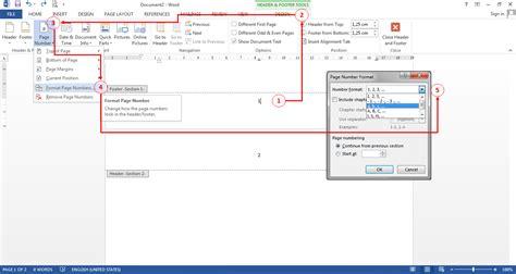 Cara Membuat Halaman Di Word Agar Berbeda | cara membuat nomor halaman berbeda dalam satu dokumen di