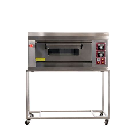 Oven Gas Deck single deck gas pizza oven tombake