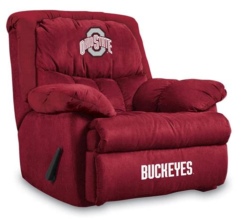 ohio state recliner ohio state buckeyes home team recliner